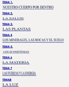 EL PATIO DE GEMMA: 377. MATERIAL ADAPTADO CONOCIMIENTO DEL MEDIO 4º ...