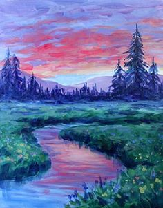Paint Nite Boston | Slate Bar and Grill (Financial District) 07/25/2015