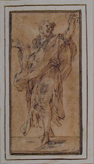 Anonymous, Italian, Standing Apostle (Click for larger version of this image)