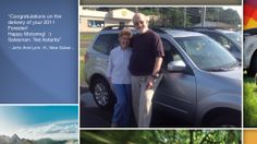 Dear John And Lynn Hozjan   A heartfelt thank you for the purchase of your new Subaru from all of us at Premier Subaru.   We're proud to have you as part of the Subaru Family.