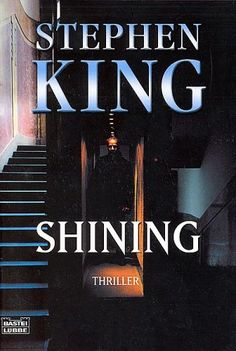 The Shining, by Stephen King, book cover