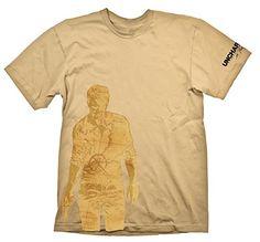 Uncharted 4 T-Shirt Nathan Drake Map , L