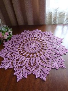 C rochet doily patternCheck out this simple Tied Cover Up Crochet Pattern by Crochet It Creations. Perfect for this summer to wear over a swim suit or tank with shortsLikes, 20 Comments - CroThis Pin was discovered by Юли Free Crochet Doily Patterns, Crochet Circles, Crochet Stitches, Knitting Patterns, Crochet Dollies, Hand Crochet, Crochet Lace, Crochet Table Runner, Crochet Tablecloth