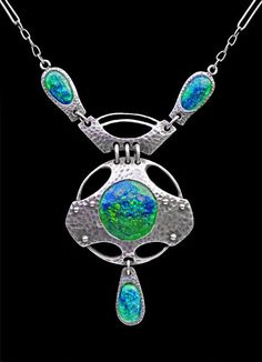 Jugendstil Necklace - Tadema Gallery