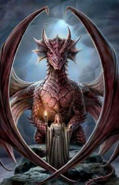 Amazing dragon fantasy art featuring hot girls, usually friends of the mythical creatures. Check out this amazing gallery of Girls and Dragons featuring hot girls friends with these mythical creatures. Fantasy Artwork, Magical Creatures, Fantasy Creatures, Dragon Medieval, Dragon Illustration, Anne Stokes, Dragon's Lair, Dragon Artwork, Bild Tattoos