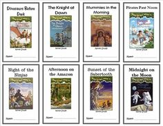 * Follows the Common Core Standards *This Magic Tree House Bundle for Books 1-8 contains eight Novel Studies from the Magic Tree House Series by Mary Pope Osborne.  In total, there are 208 pages.  Each Novel Study is a PDF in booklet-style format.This download includes Novel Studies for books 1 through 8 of the Magic Tree House book series:#1 - Dinosaurs Before Dark#2 - The Knight at Dawn#3 - Mummies in the Morning#4 - Pirates Past Noon#5 - Night of the Ninjas#6 - Afternoon on the Amazon#7…