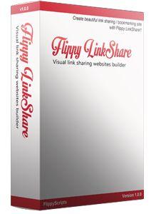 Flippy LinkShare – Visual Link Sharing Websites Builder