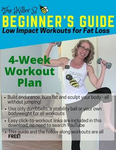 34 Proven weight loss workouts at home. What Is An Effective Weight Loss Workout Plan For Women? 4 Week Workout Plan, Weekly Workout Plans, Workout Plan For Beginners, Workout Guide, Fitness For Beginners, Free Workout Plans, Post Workout, Workout Videos, The Killers