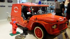 Citroën Méhari pompier Cars Vintage, Toys, Collector Cars, Firefighter, Vintage Cars, Gaming, Games, Toy