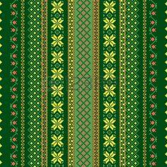 Fondo textil sin costuras en color verde photo
