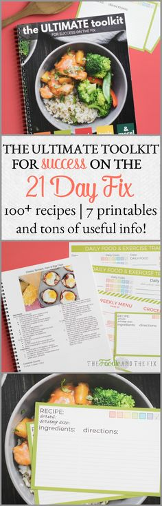 21 Day Fix Ultimate Toolkit for Success