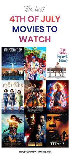 The 10 best of July movies - Hollywood & Wine Netflix Movies To Watch, Good Movies To Watch, New Movies, Superhero Movies, Marvel Movies, 4th Of July Movies, Remember The Titans, The Last Movie, Hidden Figures