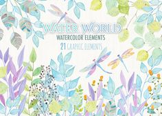 Water World by helloPAPER on Creative Market