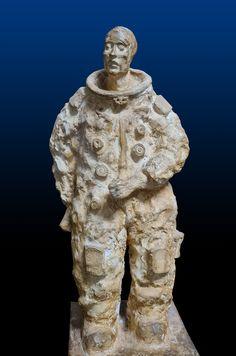 Yuri Gagarin. 60 años del ser humano en el espacio Buddha, Statue, Art, Riveting, Sculptures, Art Background, Kunst, Performing Arts, Sculpture
