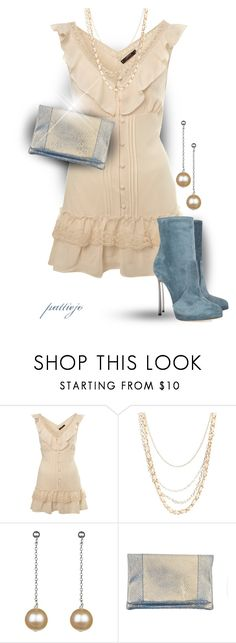 """Five Easy Pieces"" by rockreborn on Polyvore featuring Miss Selfridge, Wet Seal, A B Davis and Casadei"