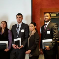 Congratulations to Telian Diggs (far right) of Parkside Place on receiving his Accredited Residential Manager (ARM) designation from IREM at today's IREM Boston event!