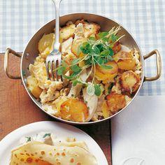 Fleisch-Kartoffel-Pfanne