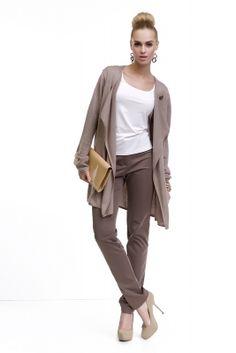 Elegantný dámsky hnedý sveter značky LADY M. www.avous.sk/novinky Normcore, Elegant, Casual, Style, Fashion, Classy, Swag, Moda, Fashion Styles