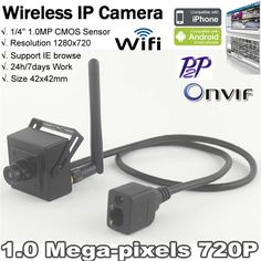 Wireless WiFi IP Camera - See the Worlds Best WiFi Hidden Cameras at http://www.spygearco.com/secureshothdliveview-hiddencameras.php