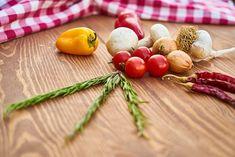 Vegetables, Pepper, Mushroom
