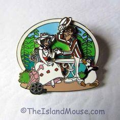 Rare Disney LE Walt Classic Mary Poppins Bert Mary at Restaurant Pin (UG:80659) #OfficialDisneyProduct
