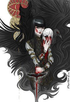 """Nevernight"" by Jay Kristoff little (bloody) Mia"