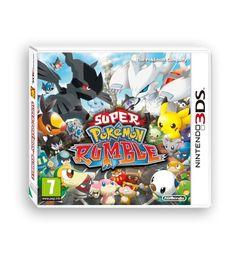 SUPER POKEMON RUMBLE - 3DS - ITALIANO Usato come Nuovo! *OFFERTA*