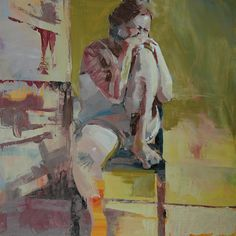 seated figure no. 8 by Mark Horst, via Flickr