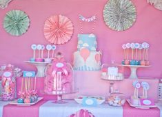 """Photo 2 of 20: Vintage Hot Air Balloon Baby Shower / Baby Shower/Sip & See """"Vintage Hot Air Balloon Baby Shower"""" 
