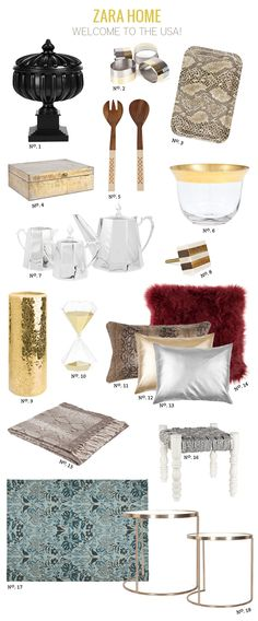 Zara Home now available in the USA!!! // repinning for @Joy Nudd