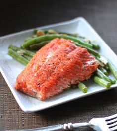 Cast Iron Skillet Salmon - the best way to make fabulous salmon!