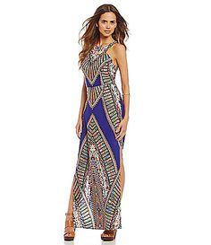 Love this dress. Anniversary honeymoon!! Gianni Bini Lolita Maxi Dress | Dillards.com
