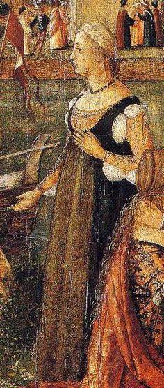 Vittore Carpaccio, 1502 - 07: The Departure of Ceyx (Detail)
