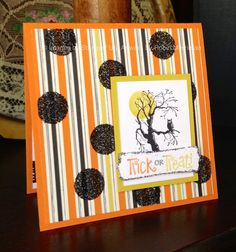 halloween card made with the Best of halloween stamp set - Stampin' Up! #trick…