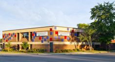 Photo of the exterior of the Hillcrest Heights Branch Library.