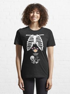"""""""halloween pregnancy shirt"""" T-shirt by ybouaabad 