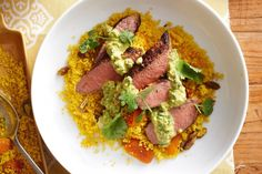 For middle-eastern roast, try this recipe for lamb and couscous.