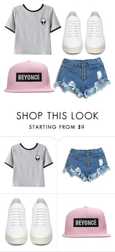 """"""""""" by amber2019 on Polyvore featuring Chicnova Fashion and Off-White"""