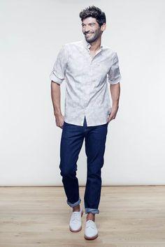 Silhouette Homme  avec ce look New Man vous propose un style casual et travaillé en