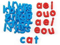 Word Building Magnetic Letters - Lowercase   shopswell