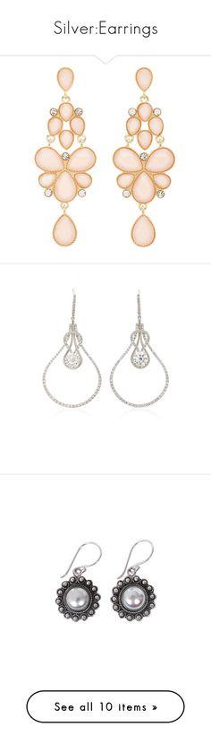 """""""Silver:Earrings"""" by purplerox24 ❤ liked on Polyvore featuring jewelry, earrings, brincos, pearl blush, teardrop chandelier earrings, hook earrings, teardrop jewelry, charlotte russe, teardrop earrings and white"""