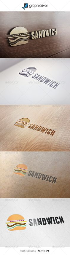 Sandwich - Logo Template  #graphicriver