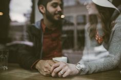 coffee shop engagement photos                                                                                                                                                                                 More