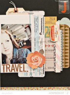 Made with @Studio Calico June kit - Roundabout!