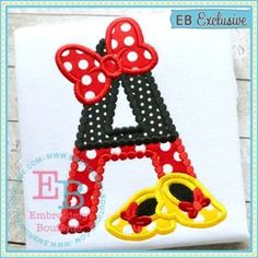 Magical Bow Shoes Alphabet -- So cute!