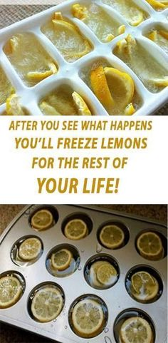 wash the lemons well, and then place them in the freezer, or to accelerate the process, you can initially slice it into small pieces and freeze it then.  When the lemons are entirely frozen, grind them, and add them to your dessert, ice cream, smoothie, or salad. In this way, you will enrich the taste of your food, and will gain numerous health benefits!