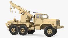 M939 Military Wrecker Light Rigged 3D model - TurboSquid 1716515