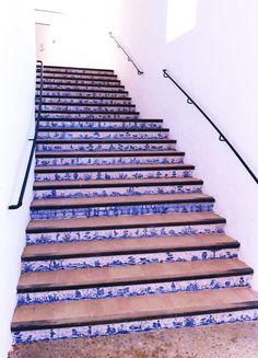 tegelinspiratie fantastiche trap wederom in Andalusië, de afbeeldingen samen vertellen een verhaal. Prachtig toch.