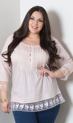 #plussize#Madelyn Pintuck Top - Dusty Rose at Curvaliciousclothes#bbw #curvy#fullfigured #plussize #thick #beautiful #fashionista #style #fashion #shop #online www.curvaliciousclothes.com TAKE 15% OFF Use code: TAKE15 at checkout