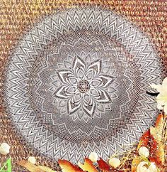 Amazing Lace Tablecloth Pattern (A) … Pattern (B) … This amazing tablecloth was a source of inspiration for . Crochet Tablecloth Pattern, Crochet Mandala Pattern, Crochet Cushions, Doily Patterns, Crochet Art, Crochet Round, Crochet Home, Thread Crochet, Crochet Doilies